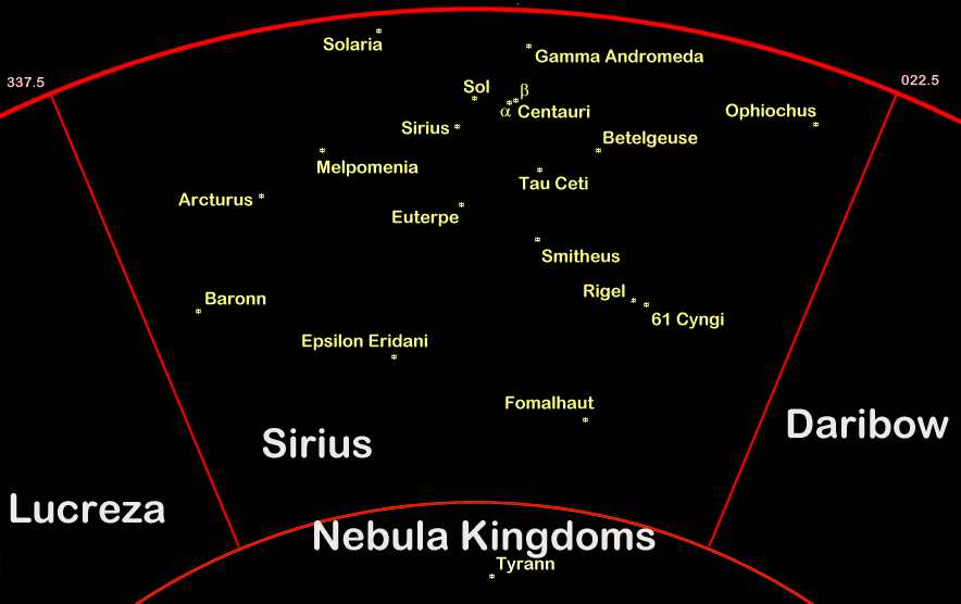 sirius star map by the dippers - photo #35